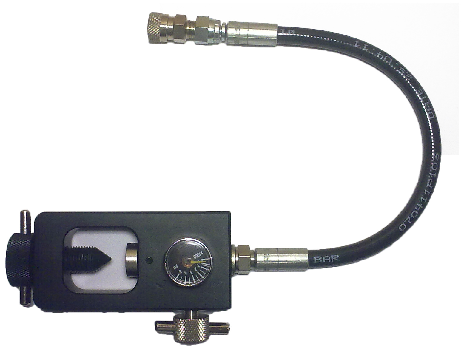Scuba filling k valve adapter for pcp rifles with female